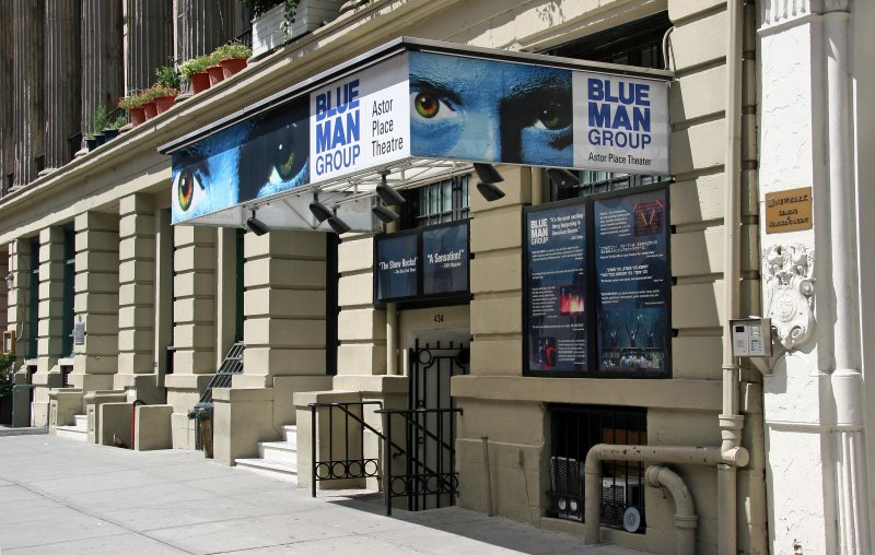 Blue Man Group - Astor Place Theater