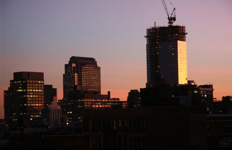 Sunset - Downtown Manhattan