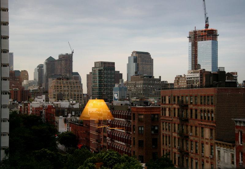 Evening from Living Room Window - Downtown Manhattan