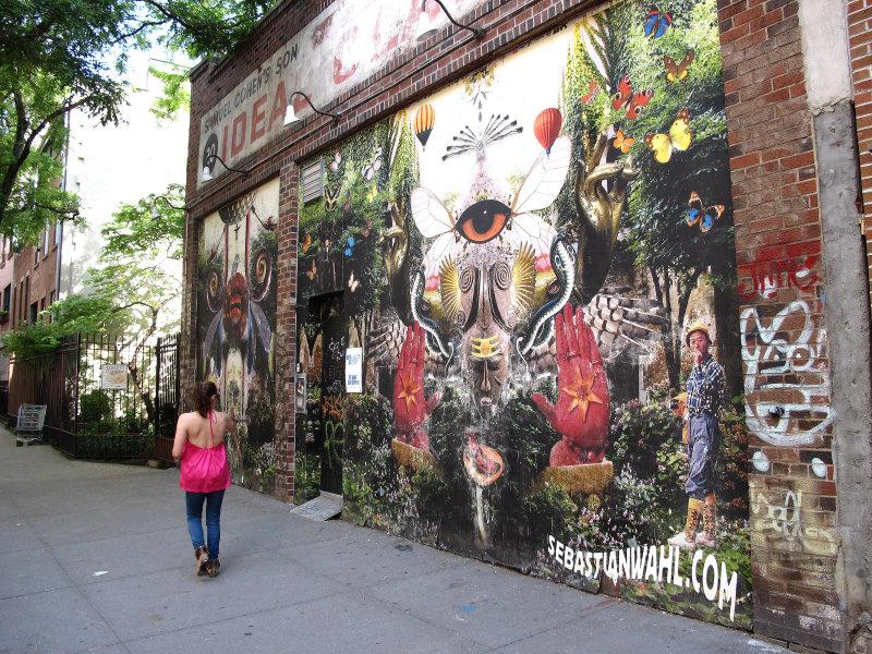 Sebastian Wahls Street Wall Mural