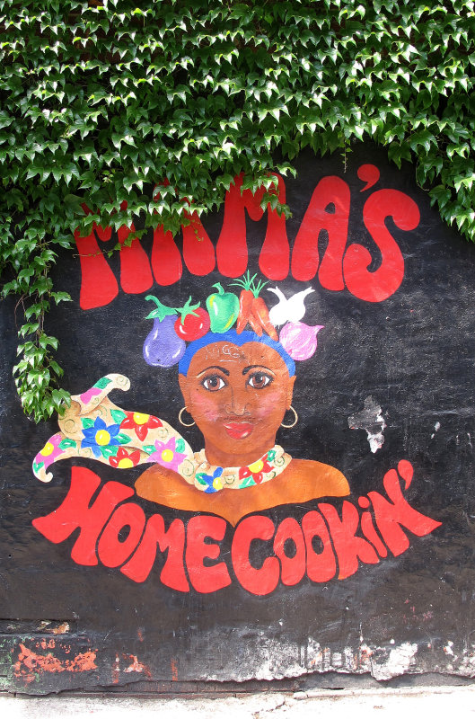 Mamas Home Cookin Mural