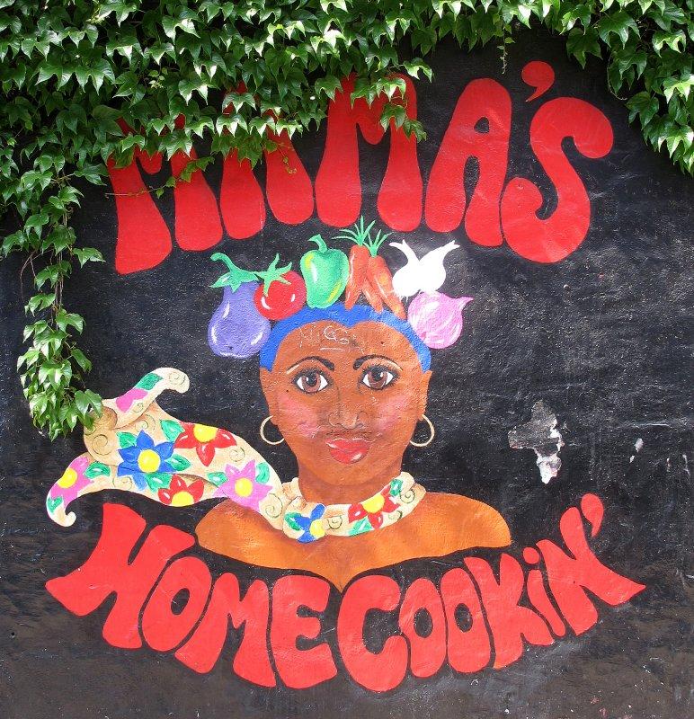 Mamas Home Cookin Mural