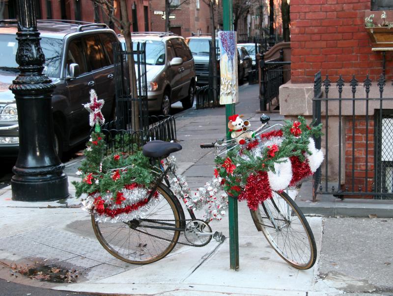 Santas Bicycle