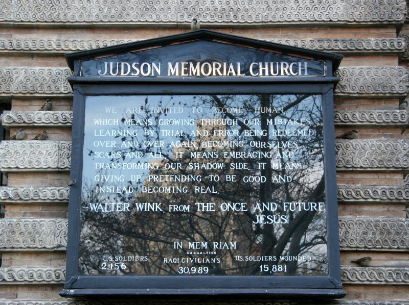 Judson  Church Message Board