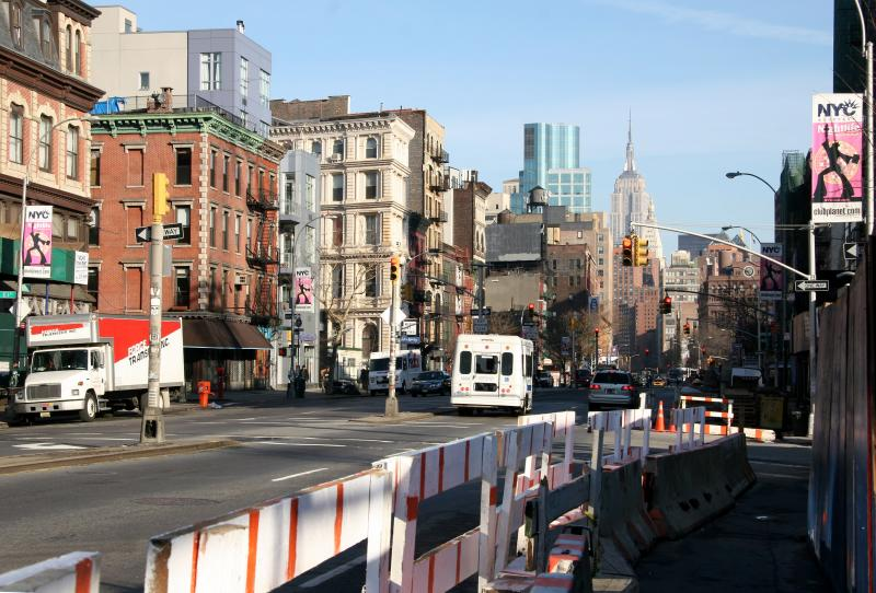 Bowery/3rd Avenue - North View