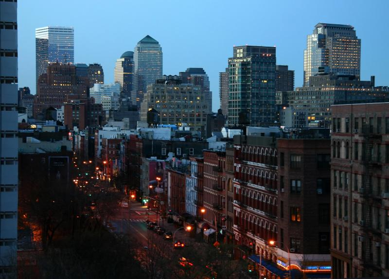 Early Morning - Downtown Manhattan