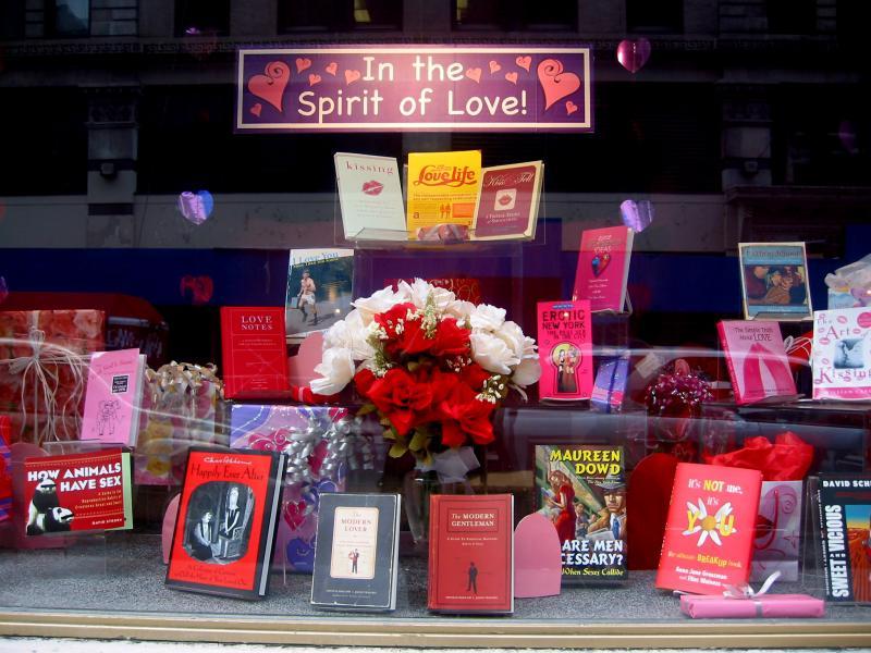 Valentine Window - NYU Bookstore