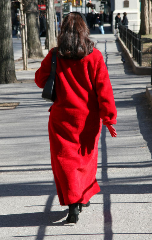 Lady in a Red Coat