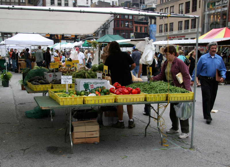 Farmers Market Union Sq East