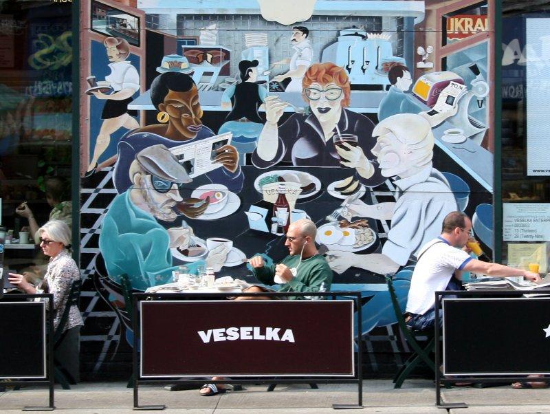 Veselka Cafe at 2nd Avenue