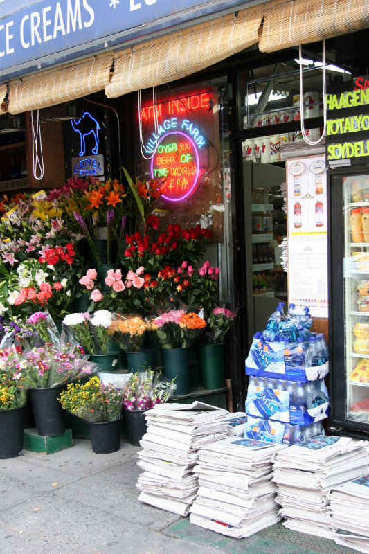 Grocery & Florist at East 9th Street