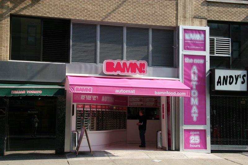 BAMN Automat Street Scene