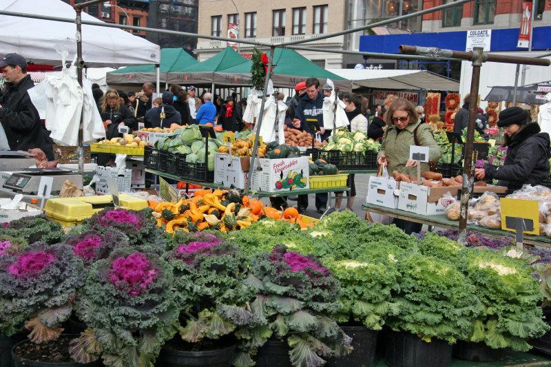 Thanksgiving Dinner Shopping - Farmers Market