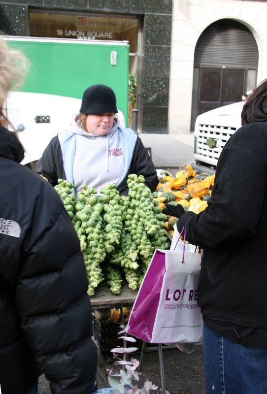 Farmers Market - Brussel Sprouts