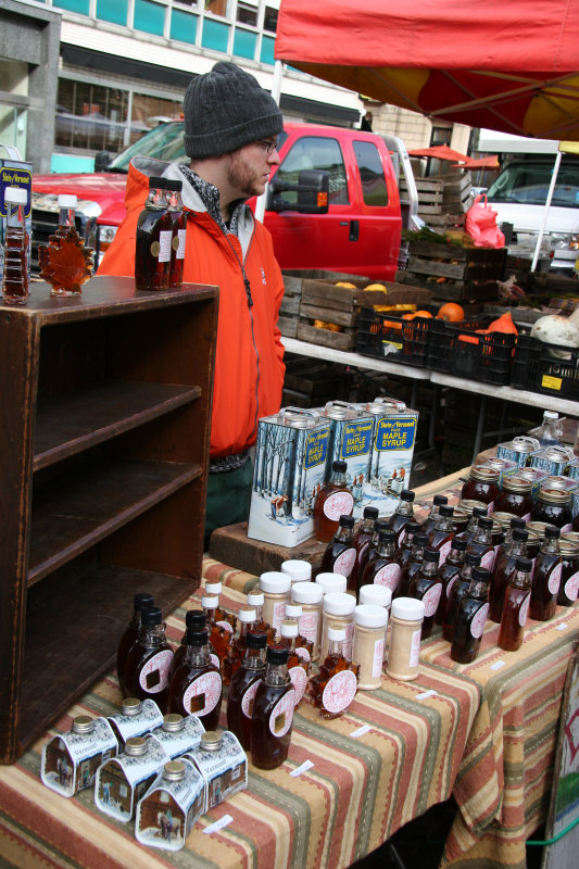 Farmers Market - Vermont Maple Syrup