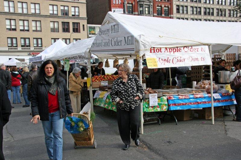 Farmers Market View