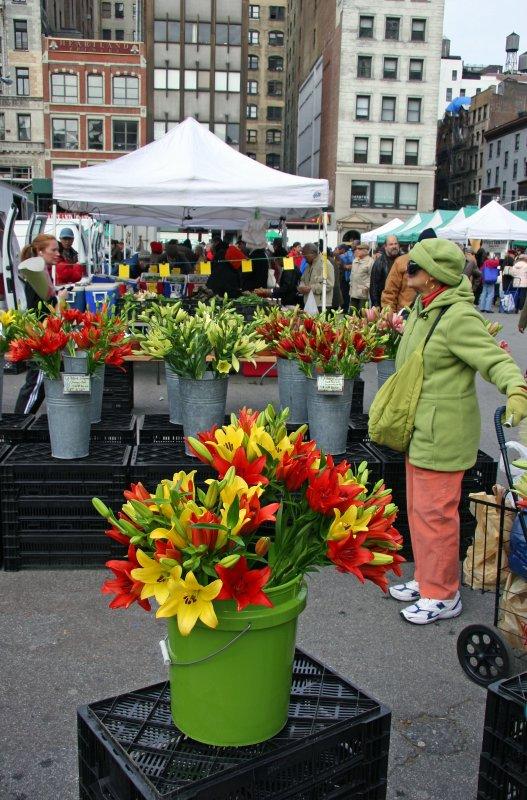 Farmers Market - Lilies