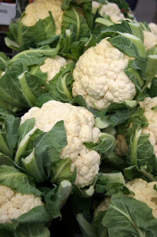 Farmers Market - White Cauliflower