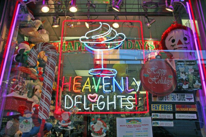 Heavenly Delights Window