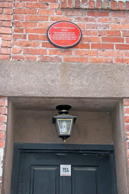 Poet Edna St. Vincent Millay Former Residence