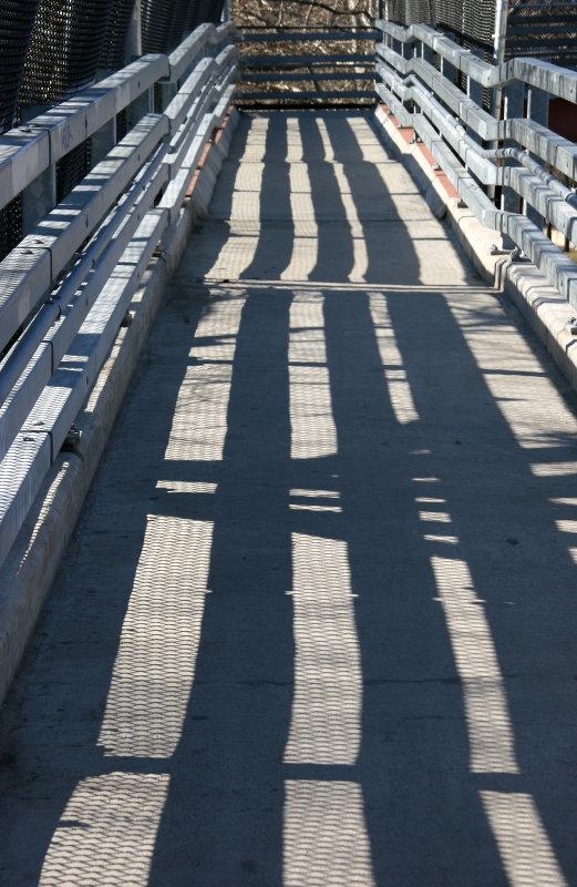 FDR Drive Pedestrian Overpass Ramp
