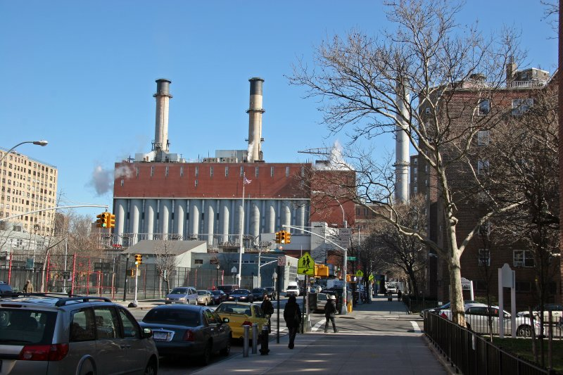 Uptown View of 14th Street Power Plant