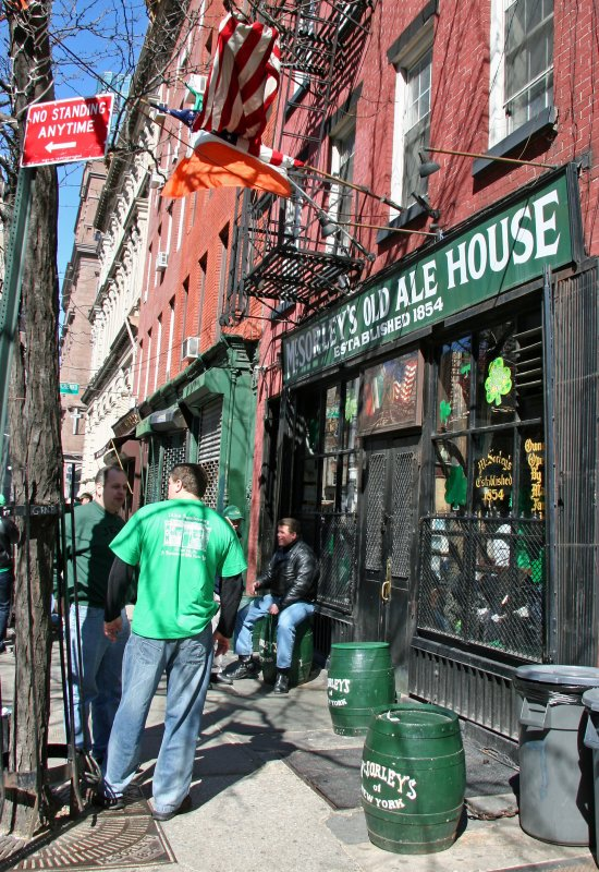 McSorleys Ale House - St Patricks Day