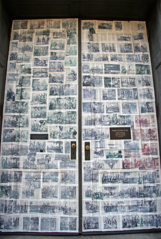 Judson Church Doors - A History of Human Rights Abuses