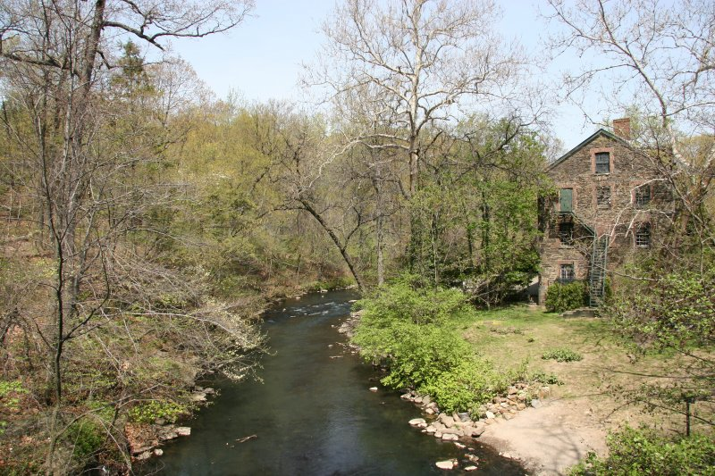 Snuff Mill by the Bronx River