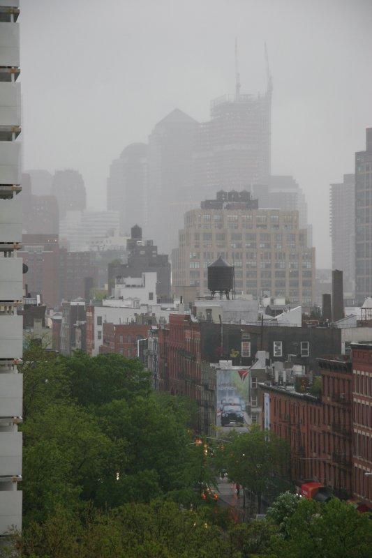 Rainy Day - Lower Manhattan