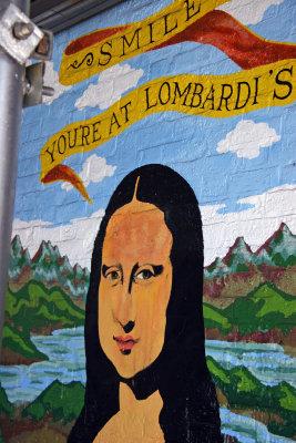Lombardis Pizza Mural