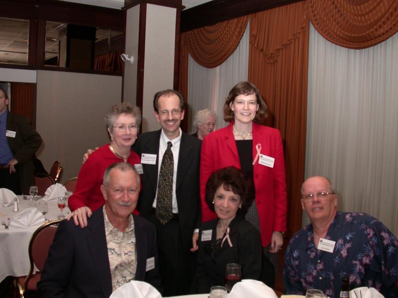 Cynthia Whitson, Dr. Demetri. Marina-front- Jerry Whitson, Maryann and Gary Klien