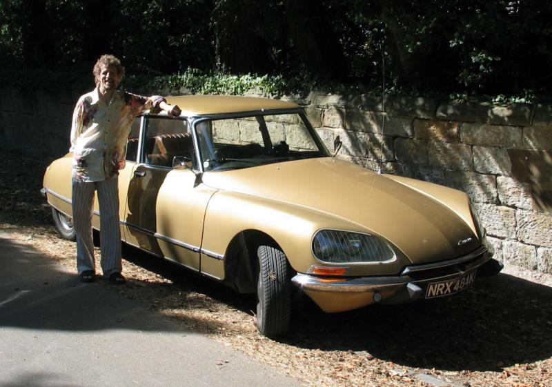 Peter and his French Car