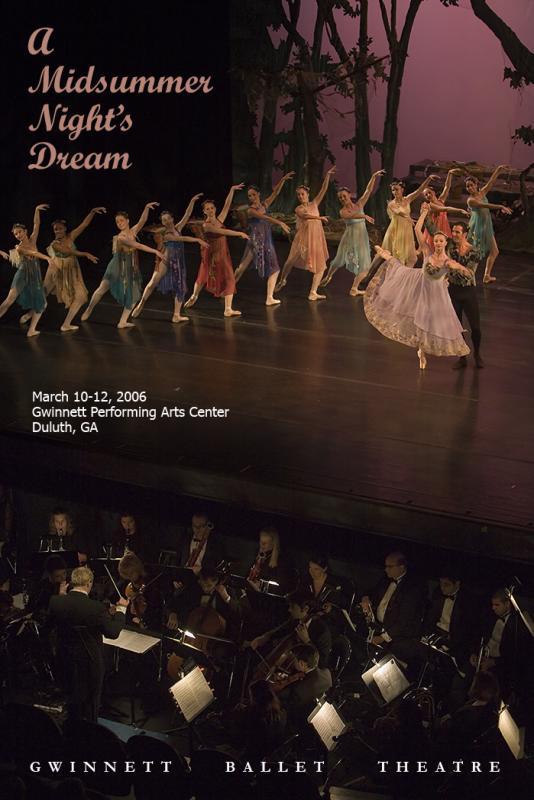 2006 Midsummer Nights Dream Poster