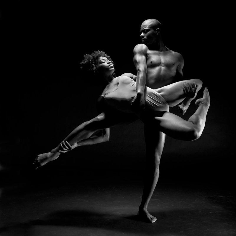 Aisha Mitchell and Corey Baker