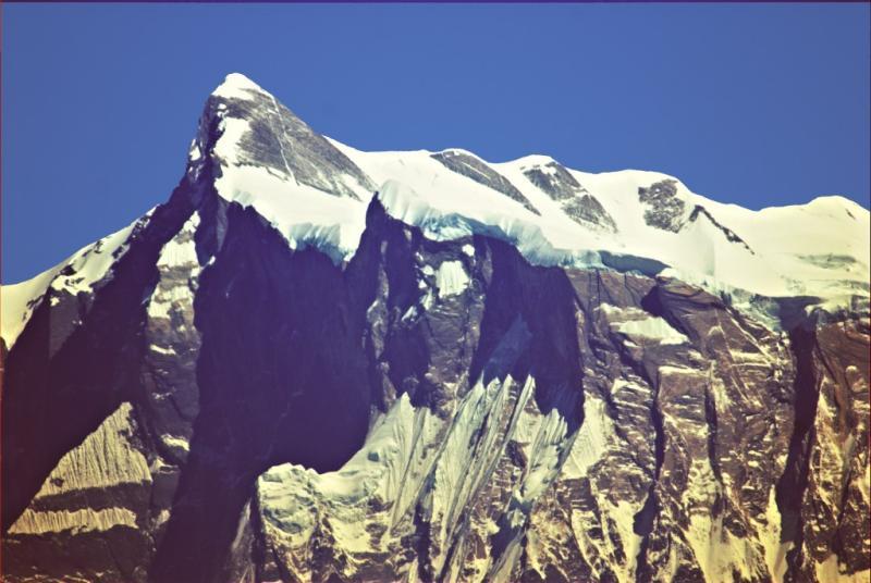 Annapurna IV, as seen from Sarangkot