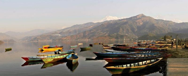 Another view of the Pokhara Lake