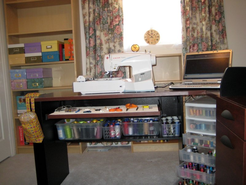Margarets New Sewing Room