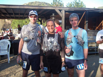 Craig, Steve, and Chris Before the Start