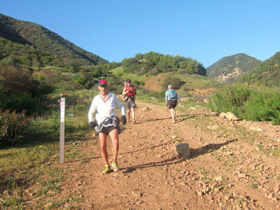 Runners Near The Bottom Of Gridley