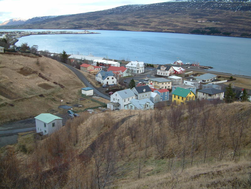 A part of the old Akureyri