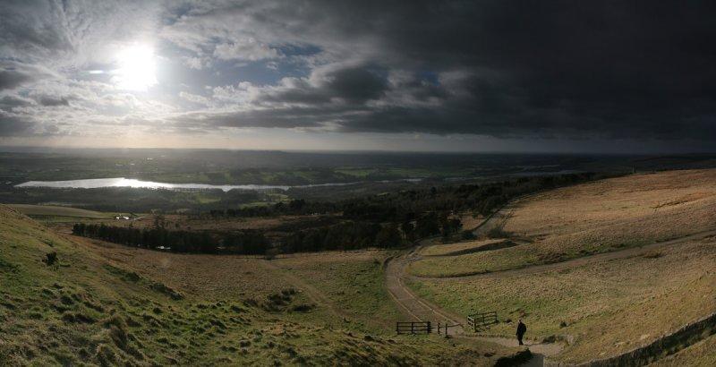 Winter Hill 6 Shot Panorama