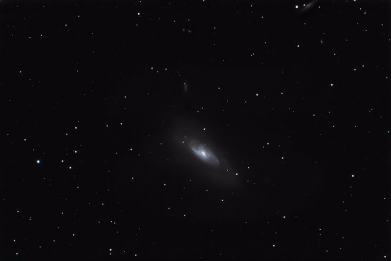 M106, NGC 4258, type Sbp, in Canes Venatici (for galaxies # in this image press next)