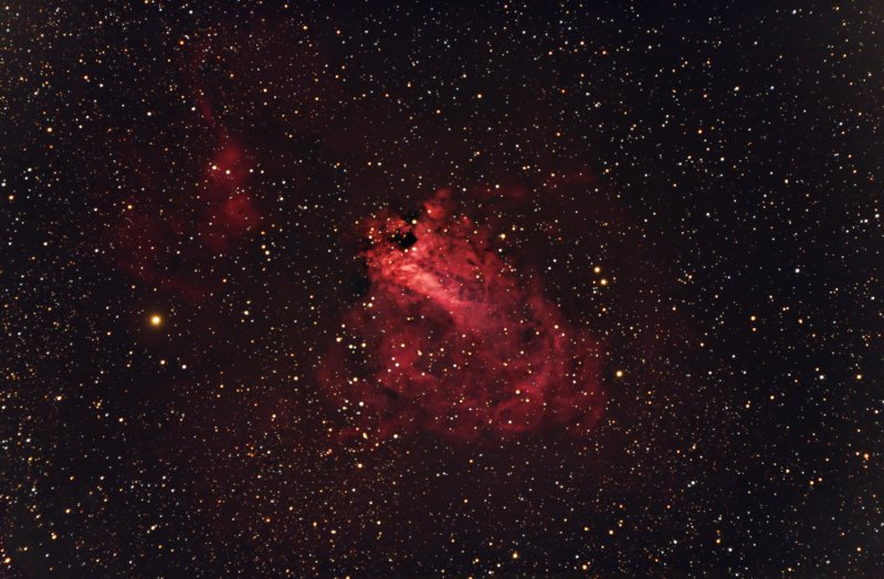 M17 The Swan Nebula - 1500pix