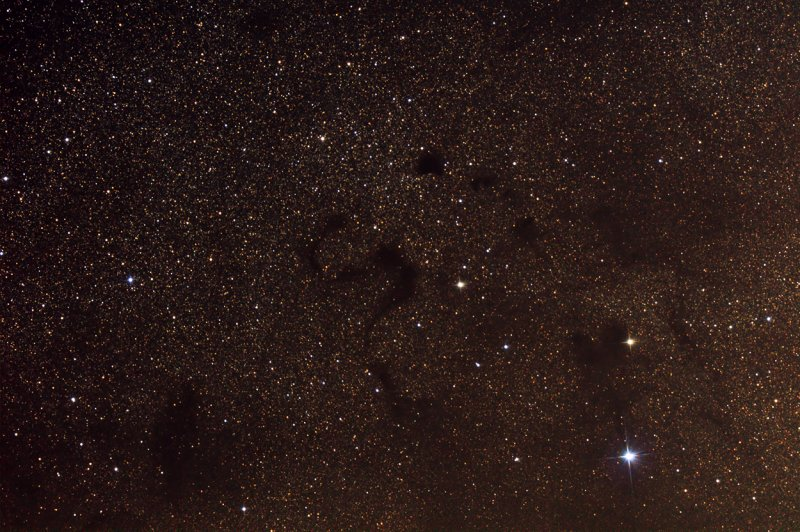 Barnard 72 (B72) The Snake Nebula in Ophiuchus - 1250 pixels
