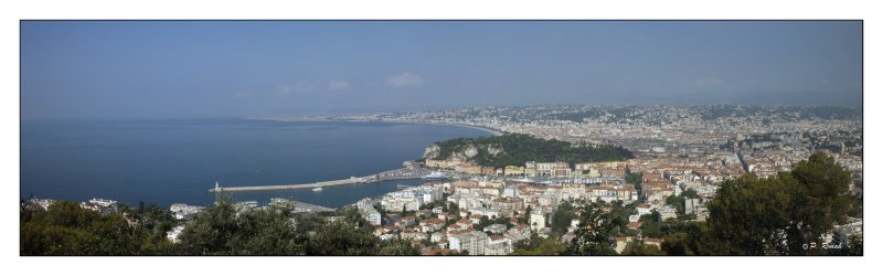 Panorama de la Baie de Nice