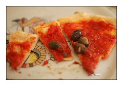 Romana Pizza at Trattoria