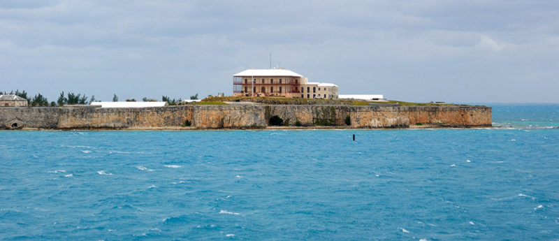 The Old Commodores House and Fort