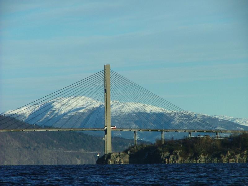 A Bridge - Nordhordalandsbrua