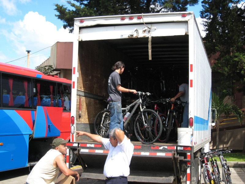 Bikes shipment...